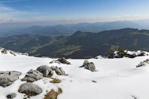 landskap med berg foto