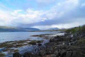 landskap i Island foto