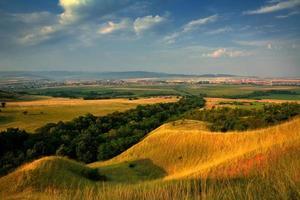 landskap i transsylvanien foto