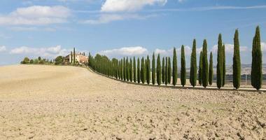 landskap i Toscana (Italien)