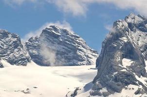 bergslandskap i Österrike.