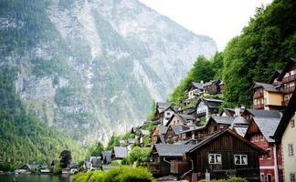 landskapsutsikt i Österrike foto