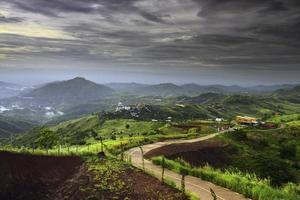 landskap khao kho thailand.
