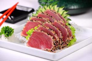tonfisk sashimi foto
