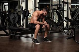 tar ledigt från träningen