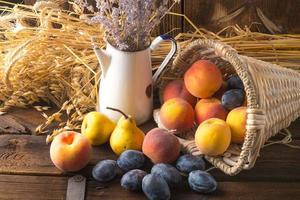 färska frukter foto