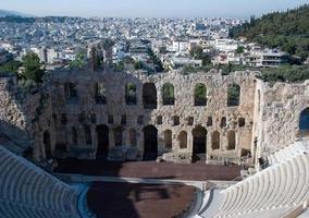 landskap av forntida Grekland foto