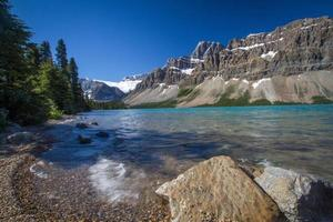 landskap i banff nationalpark foto