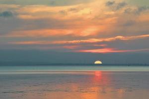 baltiska havet i vackert landskap foto