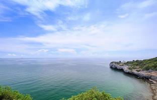 utsikt landskap si chang ön