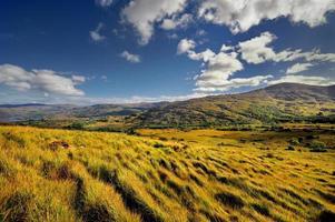 det irländska landskapet, Connor Pass, Irland foto