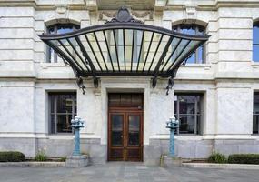 nya orleans franska kvartalet domstolens ingång foto