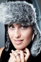 vinter porträtt foto