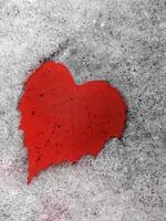 vinterens hjärta foto