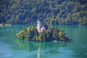 sjön bled2 foto