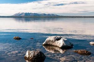 Yellowstone sjö. foto