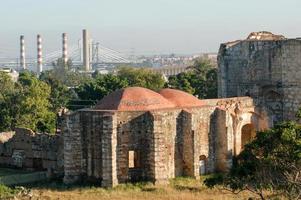 ruiner av san francisco kloster i santo domingo