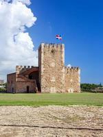 fortaleza ozama fästning, santo domingo foto