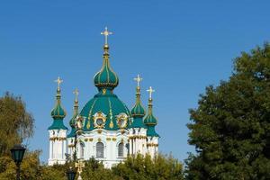 st. andrews kyrka i kyiv foto
