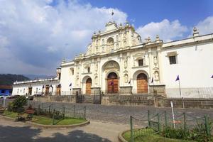 koloniala byggnader i Antigua, Guatemala
