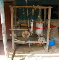 guatemala dragvävstol foto