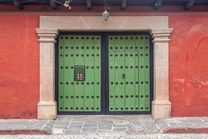 guatemala, antigua, arkitektur, amérique centrale, porte foto