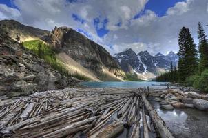 steniga berg, brittiska columbia, Kanada. foto