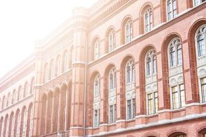 rött rådhus, berlin foto