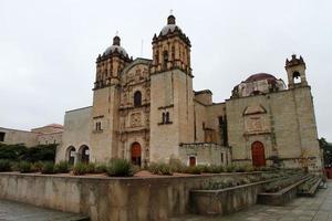 santo domigo kloster, oaxaca foto