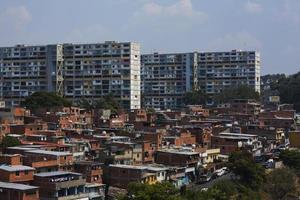 berömda barrio i caracas, Venezuela foto