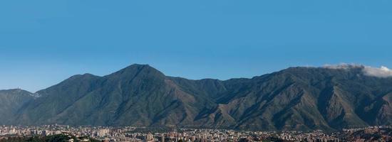cerro el avíla - el ávila nationalpark foto