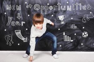 möjligheter under det nya året foto
