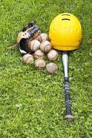 basebollutrustning foto