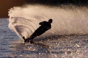 vattenskidor foto