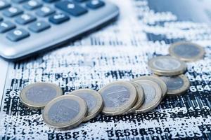 studier av ekonomiska möjligheter foto