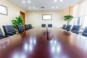 affärsmötesrum på kontoret foto
