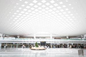 hall i modern byggnad foto