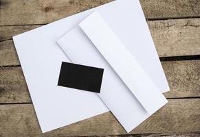 tomt brevpapper foto