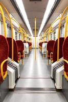 tunnelbana tåg interiör