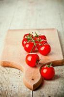 färska tomater foto