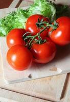 välsmakande tomater foto