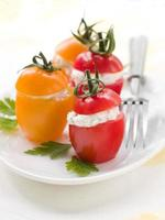 stoppade tomater foto