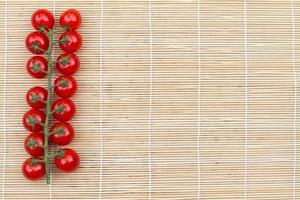 tak av tomater foto