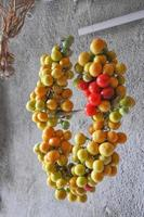 körsbärstomatgrönsaker foto
