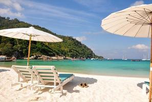 koppla av dagen på Raya Island, Phuket