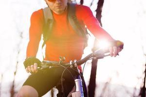 mountainbiker foto