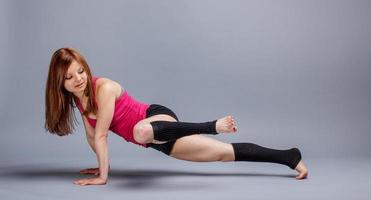 sportig kvinna foto