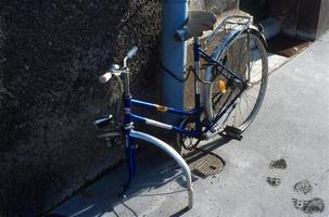 ruttet cykel foto