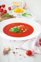 tomat gazpacho soppa foto