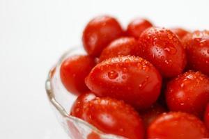 små tomater - lagerbild foto